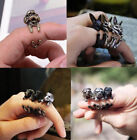 ACLO 1Pcs Cute Dog Ring Pet Antique Vintage Animal Gift Puppy Wrap Adjustable