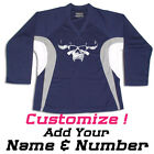 Danzig Skull Punk Band Hockey Practice Jersey Optional Name & Number - Navy
