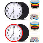 Modern 5 Colour Wall Clock Plastic Roman Number Home Office Hotel Decor beautify