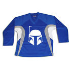 Boba Fett Star Wars Multi Color Hockey Jersey Optional Name  Number Royal