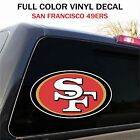 San Francisco 49ers Decal Sticker Graphic, Car Truck - 2 Sizes on eBay