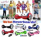 "6.5"" - 2 Wheel SELF BALANCING SCOOTER BALANCE BOARD Bluetooth LED Remote UK##"