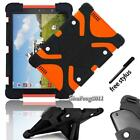"""New Silicone Stand Cover Case For Tesco Hudl 1 2/ Windows Connect 7"""" 8"""" + Stylus"""