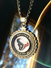 STERLING SILVER ROPE PENDANT W/ NFL HOUSTON TEXANS b SETTING JEWELRY GIFT on eBay