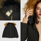 Rrp £59.99 Zara Black Feather Duck Down Quilted Puffer Jacket Size S_m_l_xl