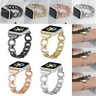 38mm/42mm Rhinestone Metal Bling Bracelet Watch Band Strap For Apple Watch 1/2/3