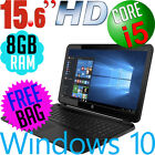"New Hp G6 15.6"" Hd Intel Core I5✔i3✔n3060✔ Dvd Bt Windows 10 Laptop Computer Pc"