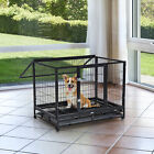 Best Heavy Duty Dog Crates - Dog Cage Pet Metal Heavy Duty with Wheels Review