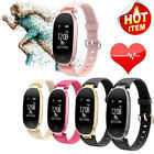 S3 OLED Women Bluetooth SmartWatch Fitness Calorie Track Band IP67 Lady Bracelet