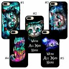 Fantasy picture in picture Cheshire Cat Alice In Wonderland iPhone case cover