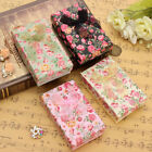 jewelry paper - 24X Floral Bowknot Jewelry Pendant Necklace Earrings Ring Case Paper Box Gift US