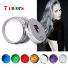 DIY Magic Hair Color Wax Mud Dye Cream Temporary Modeling 7 Colors Unisex