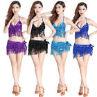 Belly Dance fashion Hand ring&Sequined Top& Hip Scarf Sequined Fringe Bollywood