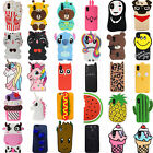 iphone 5 3d covers - 3D Cute Cartoon Soft Silicone Phone Case Cover Skin For iPhone X 5 6 6s 7 8 Plus