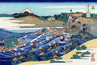 Great Wave Fuji Mountain Japan Paint Silk Canvas Poster Fabric Art Wall Decor U8