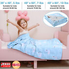 5/7/10 Lbs Kids Weighted Blanket Bed Sofa Deep Sleep Cool Comfort Heavy Gravity image