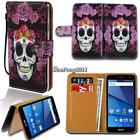 Leather Wallet Stand Magnetic Flip Case Cover For Various BLU Grand Phones
