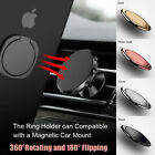 360°Remember Grip Metal Ring Stand Holder For All Smart Phones Tablet iPhone i Pad