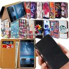 Leather Wallet Stand Magnetic Flip Case Cover For Nokia Lumia SmartPhones