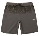 """RVCA Ancell 19"""" Staff Short (30, 32, 34, 36) - Charcoal Heather [VK201ANC_CCH]"""