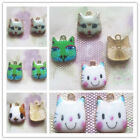 Kyпить Fashion 2/4PCS 17 different color cute cat Pendant beaded Jewelry DIY Findings на еВаy.соm