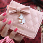 Ladies Leather Wallet Bow Women Wallets And Purses Female Large Zipper Short