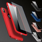 Ultra Thin Hard Case For Apple iPhone X 8 7 6s 6 Plus SE with Screen Protector