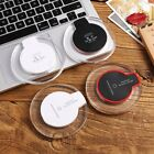 Qi Wireless Fast Charger Dock Charging Pad For iPhone X 8 8 Plus Samsung S8 S9