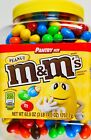 Mars M&M's Peanut Chocolate Candies Pantry Size, 62 or 124 OZ