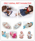 "For 10""-11'' Mini Reborn Outfit Baby Girl Boy Dolls Clothing, NOT Included Doll"