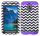 For Samsung Galaxy S5 Active - KoolKase Shockproof Cover Case - Chevron 98