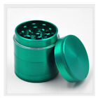 Herb Tobacco Grinder Smoke Hand Muller Metal 4 Layers 40mm