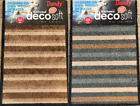 Dandy Washamat Decosoft Washable Microfibre Stripe Design Deco Soft Mat  75x50cm