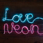 Make Your Own Neon Effect Sign 3m message kit Blue or Pink