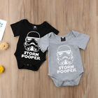 Newborn Star Wars Baby Boy Girl Romper Jumpsuit Bodysuit Clothes Outfits 0-18M $4.29 USD