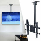 """Ceiling Mount TV Wall Bracket Roof Rack Pole Retractable For 26""""-50"""" Flat Screen"""