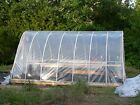 3 PCS 2.4Mil Greenhouse Clear Plastic Film Polyethylene Covering water proof