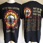 this l - GUNS N' ROSES (2017) Not In This Lifetime US Concert Tour Dates T-Shirt L/XL/2XL