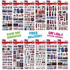 Fun Stickers London ** 36 Designs To Choose From ** See Our Store For More **