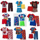 NWT Boys 3pc Pajamas Elmo Blaze Spiderman Pj Masks Disney Paw Patrol 2t 3t 4t