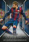 2015-16 Topps UEFA Champions League Showcase Road to Victory - You Choose