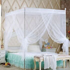 Princess Lace Canopy Mosquito Net No Frame for Twin Full Queen King Bed Witty image