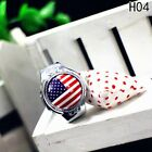 Vintage Flip Round Case Men Women Pocket Ring Quartz Couple Finger Watch
