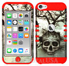 For Apple iPod Touch iTouch 5 | 6 - KoolKase Hybrid Cover Case - Skull Tree 06