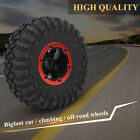 1pc Rubber Tire Tyre Wheel with Plastic Hubs for RC Car Truck Rock Crawler ES