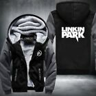 New Winter Jackets and Coats Linkin Park hoodie Anime Hooded Thick Zipper