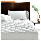 Quilted Waterproof Mattress Protector Topper Bed Cover Fitted Sheet Extra Deep image