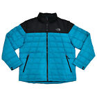 The North Face Mens Jacket Insulated 550 Down Zip Puffer Longsleeve Coat S L Xl