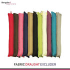 Fabric Draft Draught Excluder Insulator Cushion Door Window Hallway x 1/2/4