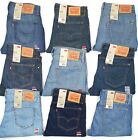 Levis 527 Boot Cut Mens Jeans Black & Blue Many Sizes Many Colors New With Tags